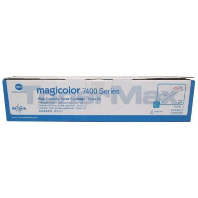 KONICA MINOLTA MAGICOLOR 7450 TONER CYAN 12K